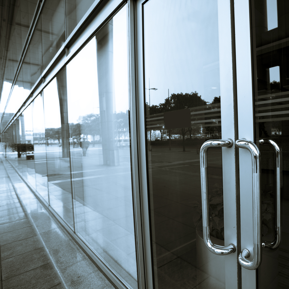 Commercial Glass Doors : Glass mirror first choice